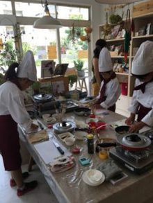 7月21日に柏市北柏で、子ども料理教室《まじかるれっすん》内田教室を開催しました(^^♪暑い中、みんなでドライカレーを作りましたよ~!