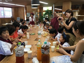 8月25日に町田市で【親子で白玉フルーツポンチを作ろう♪】イベントを開催しました!