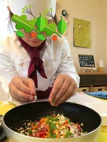 7月19日、松戸市八ヶ﨑で《まじかるれっすん》新井教室が開催されました♪今月の献立は子どもたちにも人気の高いドライカレーです(^^♪