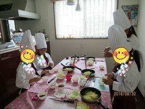子どもだけで、ソース焼きそばを作っちゃおう~♪