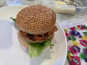 おうちでつくれるハンバーガー