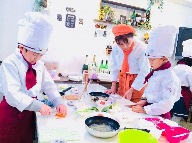 稲垣教室 調理風景